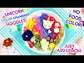 How to Make COLOR CHANGING Unicorn Noodles!
