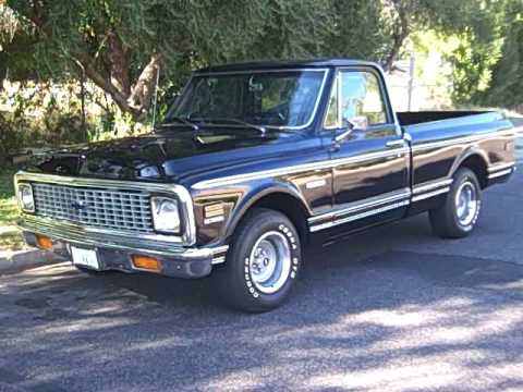 1971 Chevy C10 Pickup - YouTube