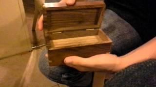 Secret enigma box unlocked