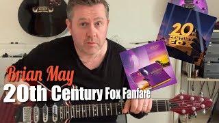 Queen - 20th Century Fox Fanfare - Guitar Lesson (Guitar Tab)