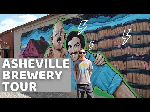 Asheville Brewery Tour - North Carolina Vlog - Episode 1 (2019)