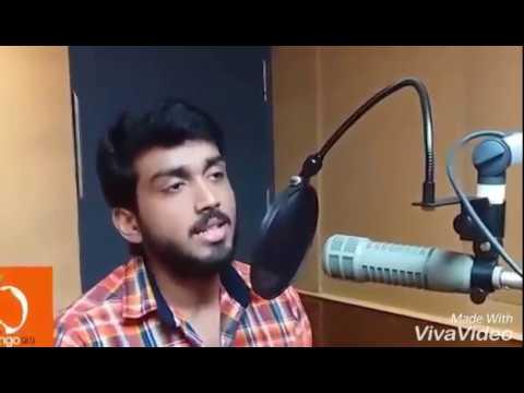 Poomaram full song sing kalidas in studio, പൂമരംപാടുകയാണ്കാളിദാസ്