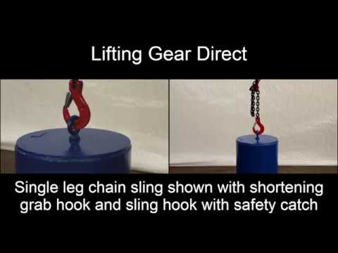 How To Use Chain Slings - Lifting Gear Direct