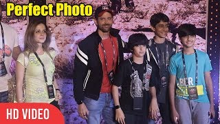 Hrithik Roshan CUTE Moment With Wife And Kids at U2 India Show | Viralbollywood.mp3