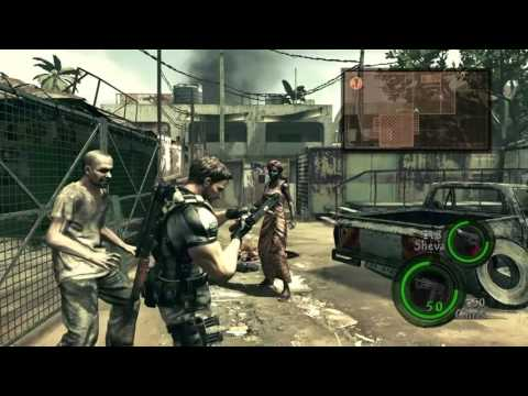 Resident Evil 5™ Chapter 1-2 Urban District & Abandoned Building (PS4 Co-Op)