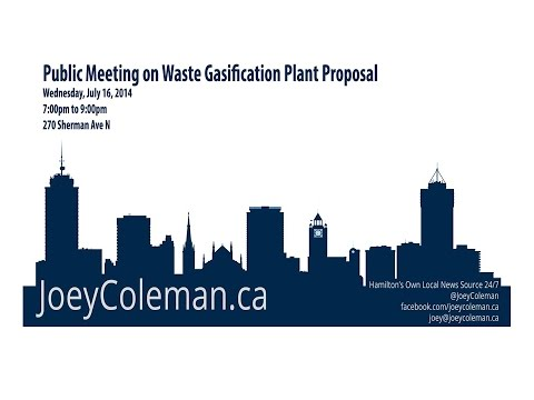 Special Live Coverage: Sherman Hub to Discuss Waste Pier 15 Waste Gasification Proposal [Live 7pm]
