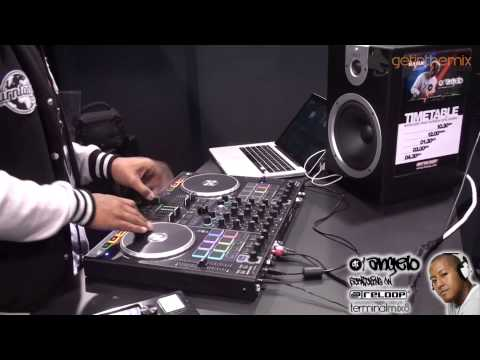 DJ Angelo Scratching On The ReLoop Terminal Mix 8 Controller - NAMM 2014