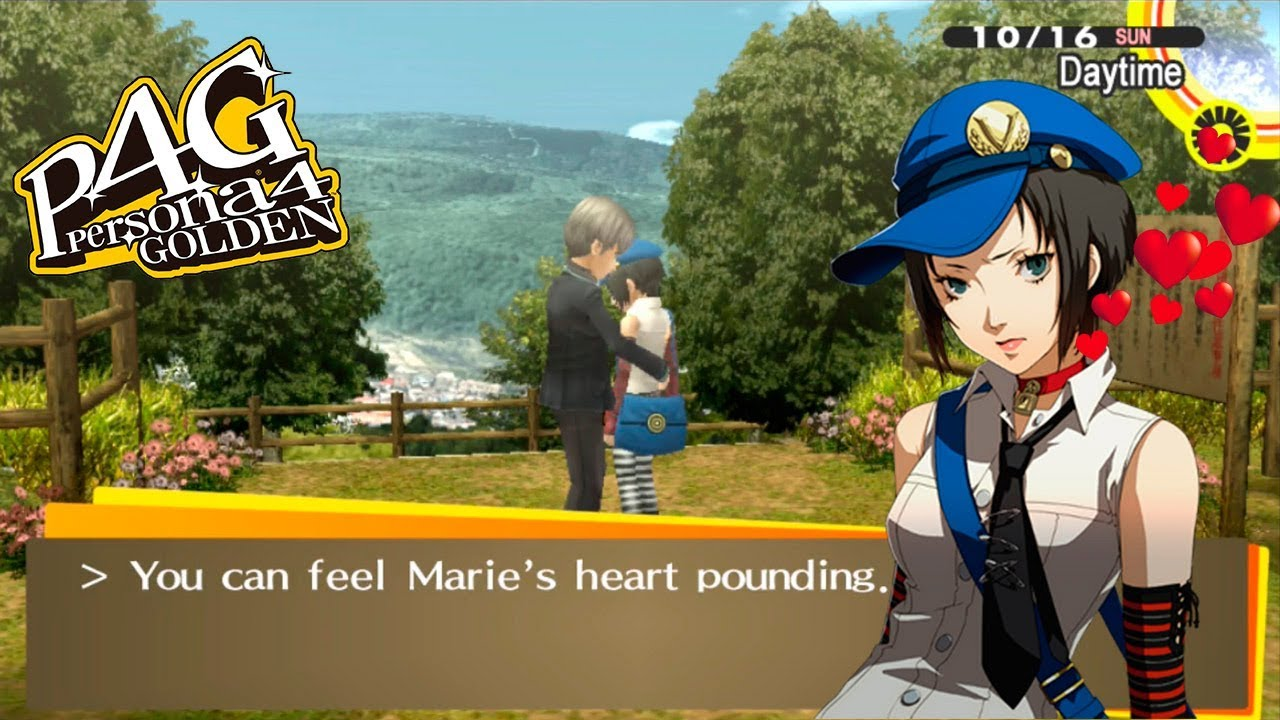 Persona 4 golden hookup more than one girl