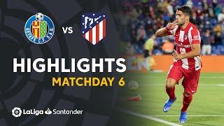 Resumen de Getafe CF vs Atlético de Madrid (1-2)