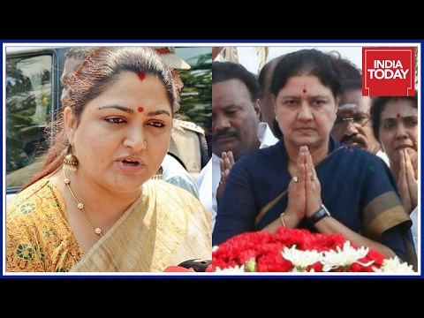 Khushboo Backs OPS For Chief Minister's Post