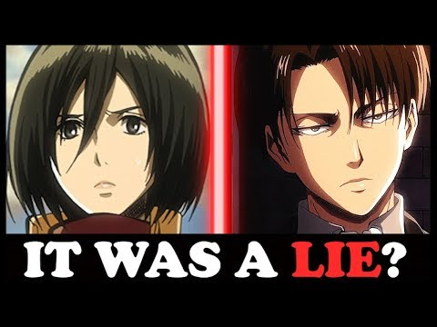 TRAGIC ACKERMAN SECRET REVEALED! (Attack on Titan / Shingeki no Kyojin)