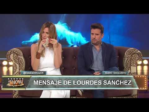 El mensaje de Lourdes Sánchez contra Pampita