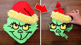 The Grinch Pull Apart Cupcakes and Christmas Snack Ideas