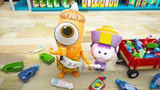 Spookiz | Lost in the supermarket | 스푸키즈 | Funny Cartoon | Kids Cartoons | Videos for Kids