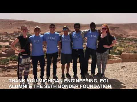 Engineering Global Leadership (EGL) Volunteer Abroad Morocco 2017