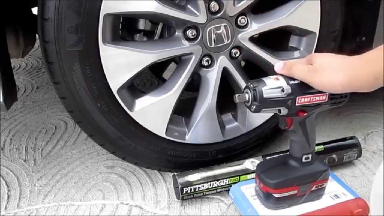 Lug Nut Removal And Installation Using Craftsman Impact Wrench Harbor Freight Torque You