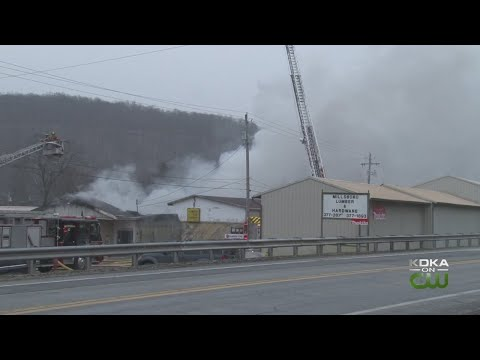 Millsboro Lumber Company Destroyed By Fire
