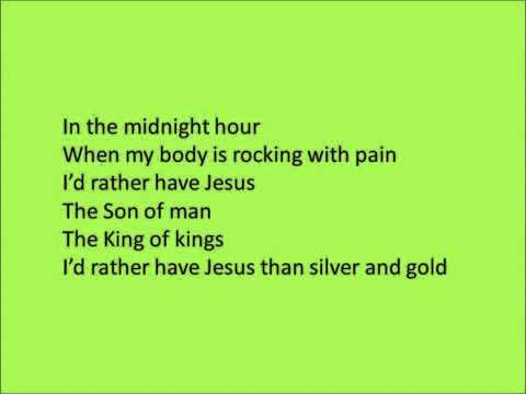 Silver And Gold By Kirk Franklin And The Family (Lyrics)
