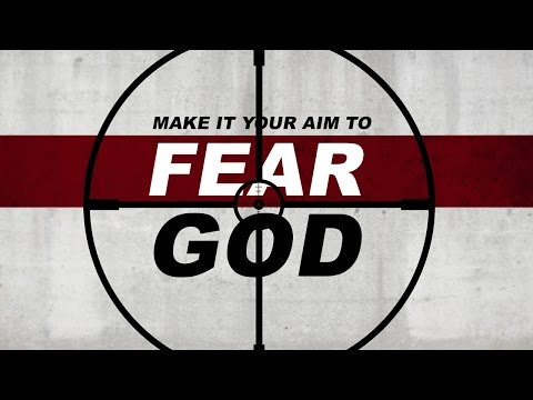 how to put the fear of god in someone