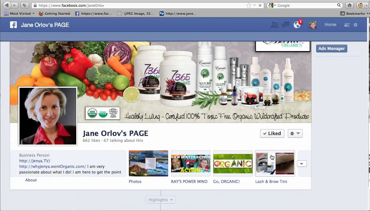Create Personal Facebook Page