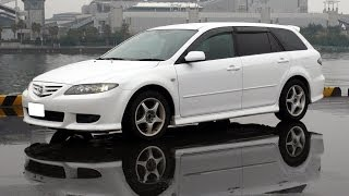 マツダ・アテンザ:東名高速をカッ飛び試乗! Mazda 6 on Tomei highway! ZOOM-ZOOM