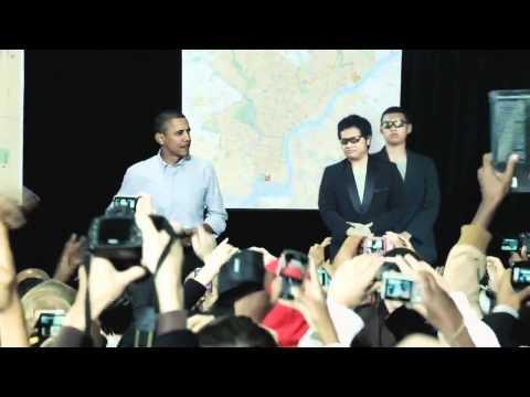 OBAMA has Arrived at Indonesia! (Obama tiba di Indonesia!) And Tara as His Bodyguard?