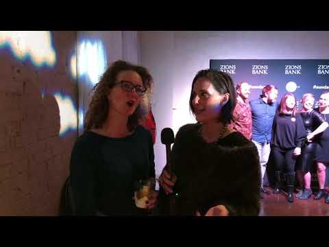 Eugenie Hero Jaffe at Sundance SLC Opening Night Party