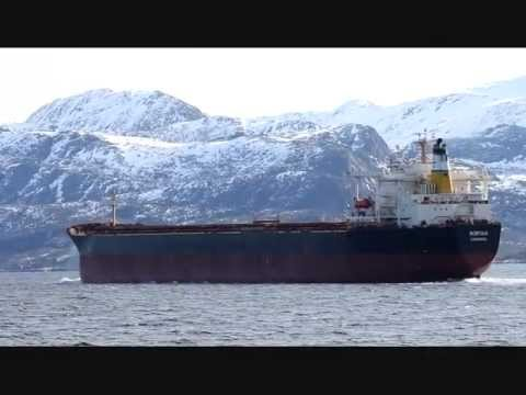 Bulkcarrier NORFOLK inbound to Narvik