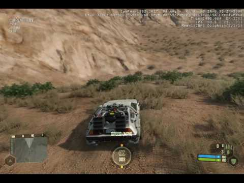 Crysis DeLorean Mod Maxed out
