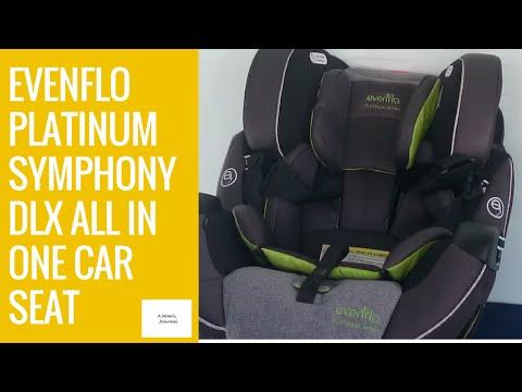 Evenflo Platinum Symphony 65 DLX All In One Car Seat