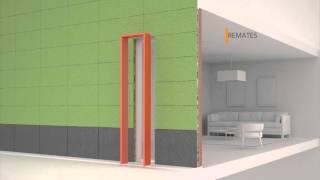 Instalación de fachada ventilada hormigón polímero | Renovaciones Técnicas De FRIAS