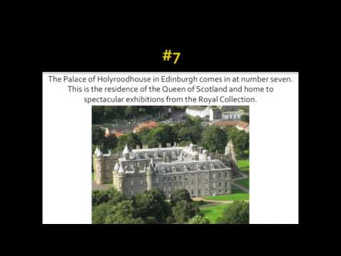 Top 10 Royal Attractions in the UK