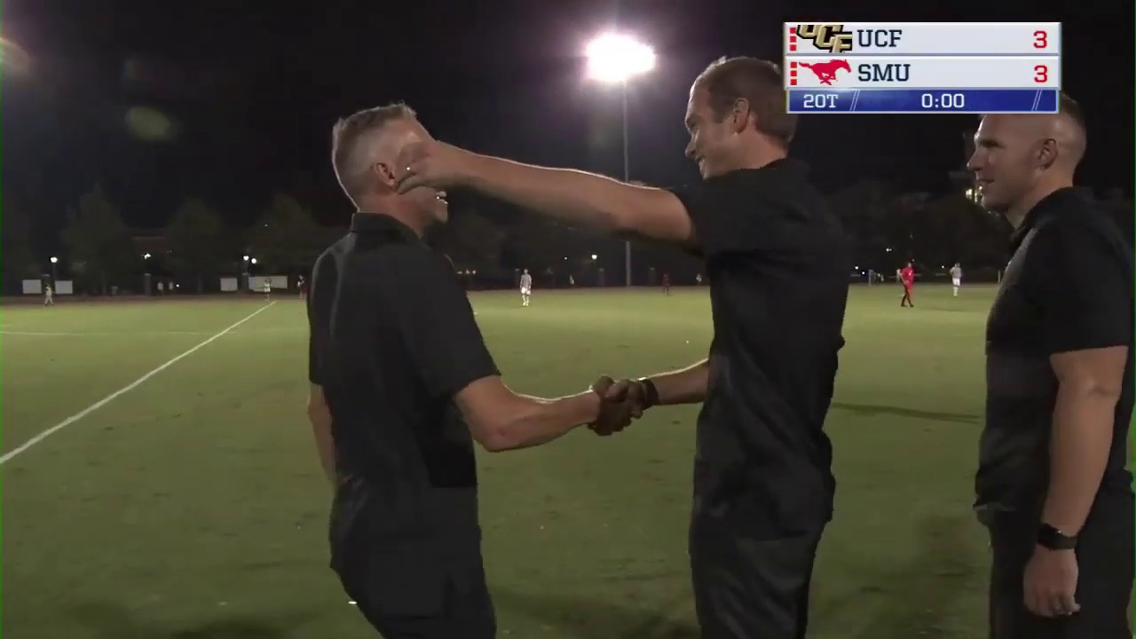 ADN Men's Soccer Highlights: UCF 3, SMU 3