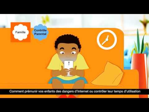 controle parental tablette android orange