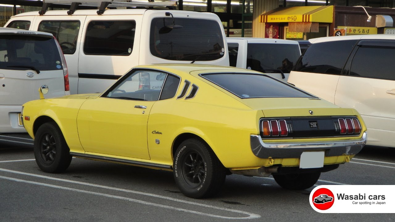 Spotted: A smart, first-generation Celica 1600ST (TA27 ...