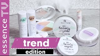 essence trend edition little beauty angels colour correcting  perfekter teint / swatches l essenceTV