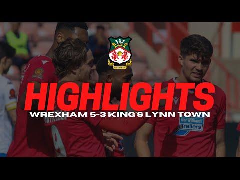 Wrexham King's Lynn Goals And Highlights