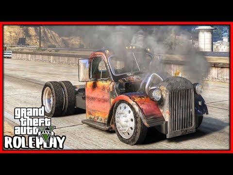 GTA 5 Roleplay - I Bought Cheapest Junkyard Car!!   RedlineRP #746