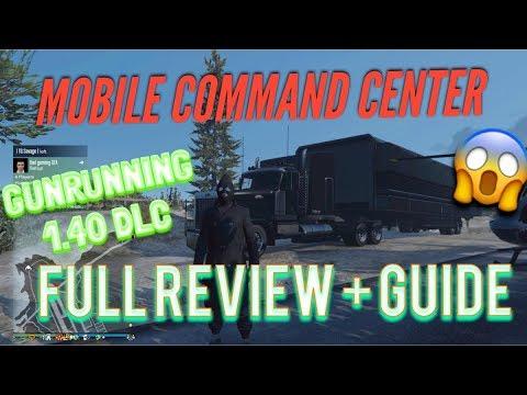 ABSOLUTELY EVERYTHING: MOBILE COMMAND CENTER ( GTA 5 Online DLC 1.40 GUNRUNNING)
