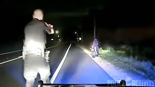 Police Officer Accidentally Shoots Fleeing Motorcyclist