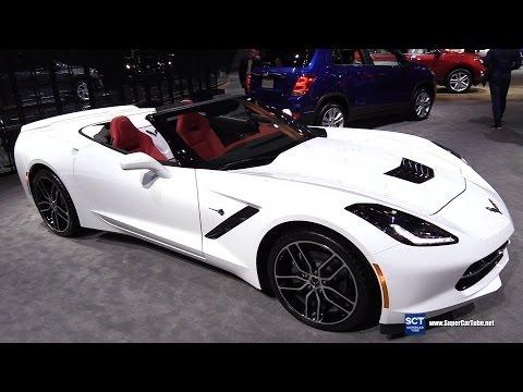2017 Chevrolet Corvette Grand Sport 65 Edition-Exterior Interior Walkaround-2017 New York Auto Show