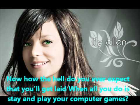 Lily Allen - Alfie (Lyrics) Cover - YouTube Pictures Of Lily Lyrics