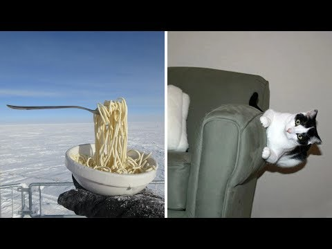 Антигравитационные фото, которые заставят вас усомниться в законах физики