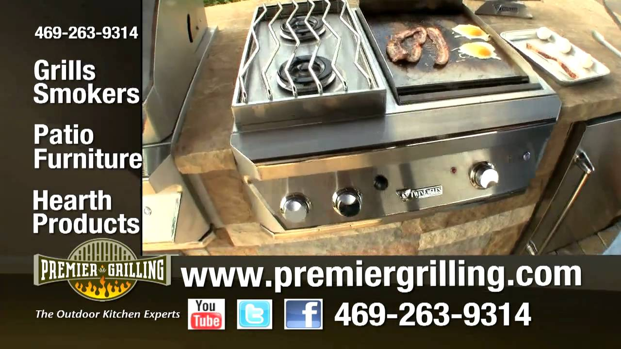 7-Outdoor Kitchens & BBQ Grills Frisco, TX Premier Grilling