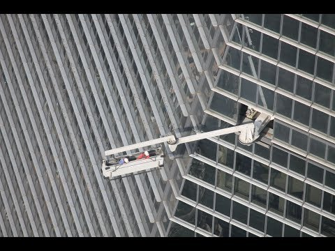 Shanghai World Financial Center Window Washers / 上海环球金融中心