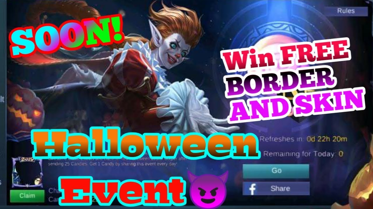 New Halloween Event Mobile Legends  Win Karrie Jester Skin and Time  Limited Border for Free