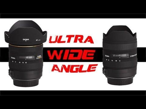 Sigma 10-20mm vs 8-16mm vs Kit (Video Test)