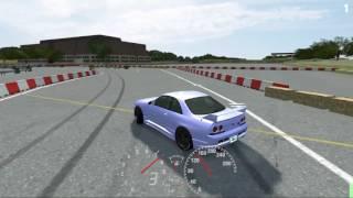 LFS Drifting The Mighty R33 GTR