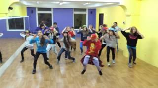 Хип-хоп, подростковая группа (10-13 лет), хореограф - Вашеця-Калмыкова Юлия