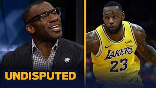 Shannon Sharpe reacts to LeBron James' 6th triple double of the season | NBA | UNDISPUTED